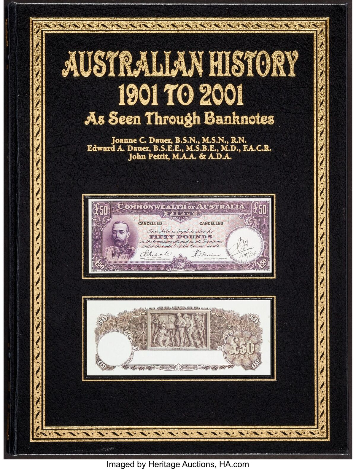 main image for Historic Australian Banknote Collection Headed to Heritage Auctions' Long Beach Expo World Currency Auction