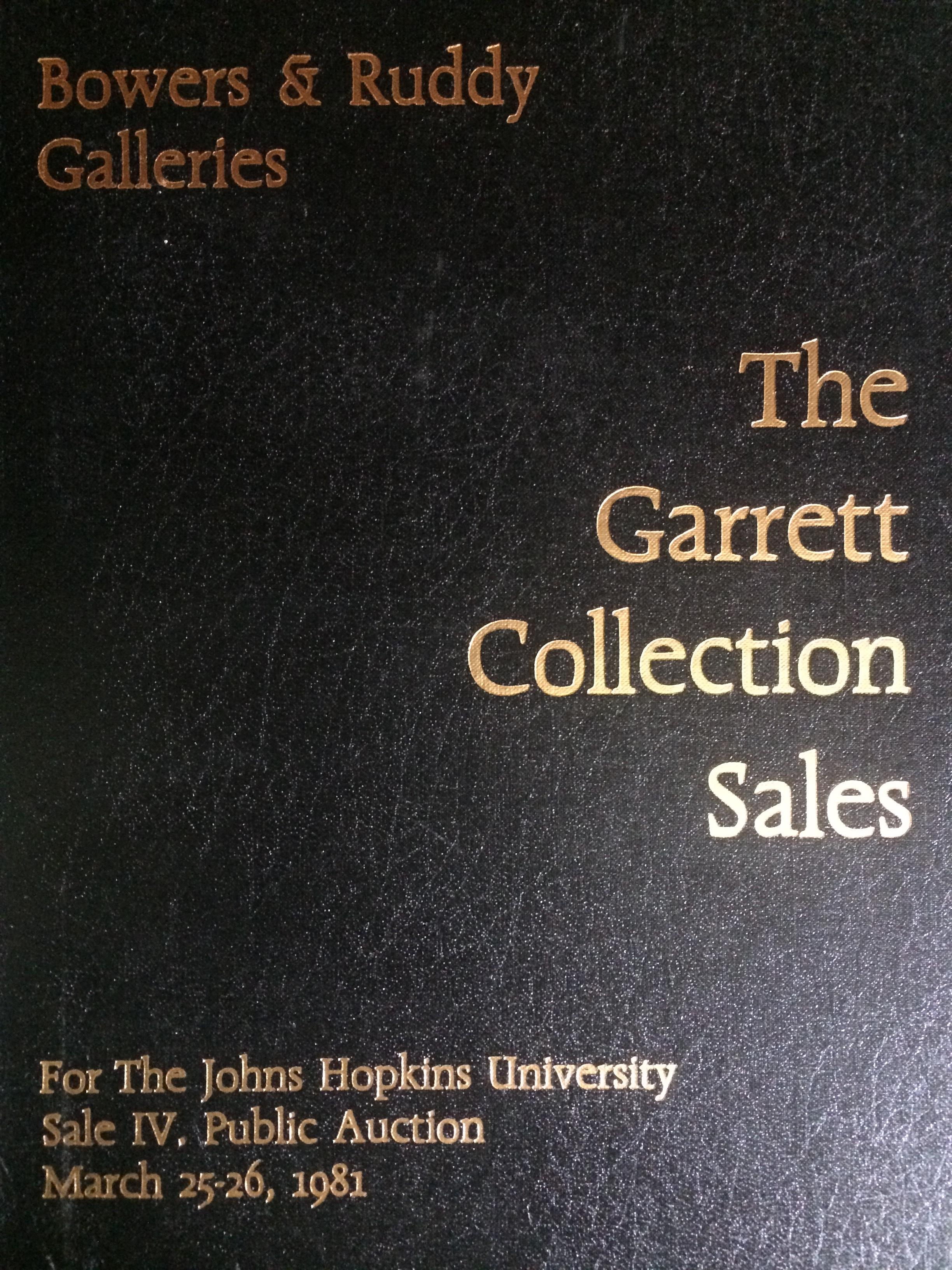 main image for Dave Bowers and the Garrett Collection
