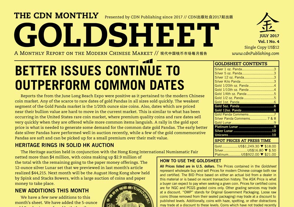 thumbnail image for GOLDSHEET: BETTER ISSUES CONTINUE TO OUTPERFORM COMMON DATES