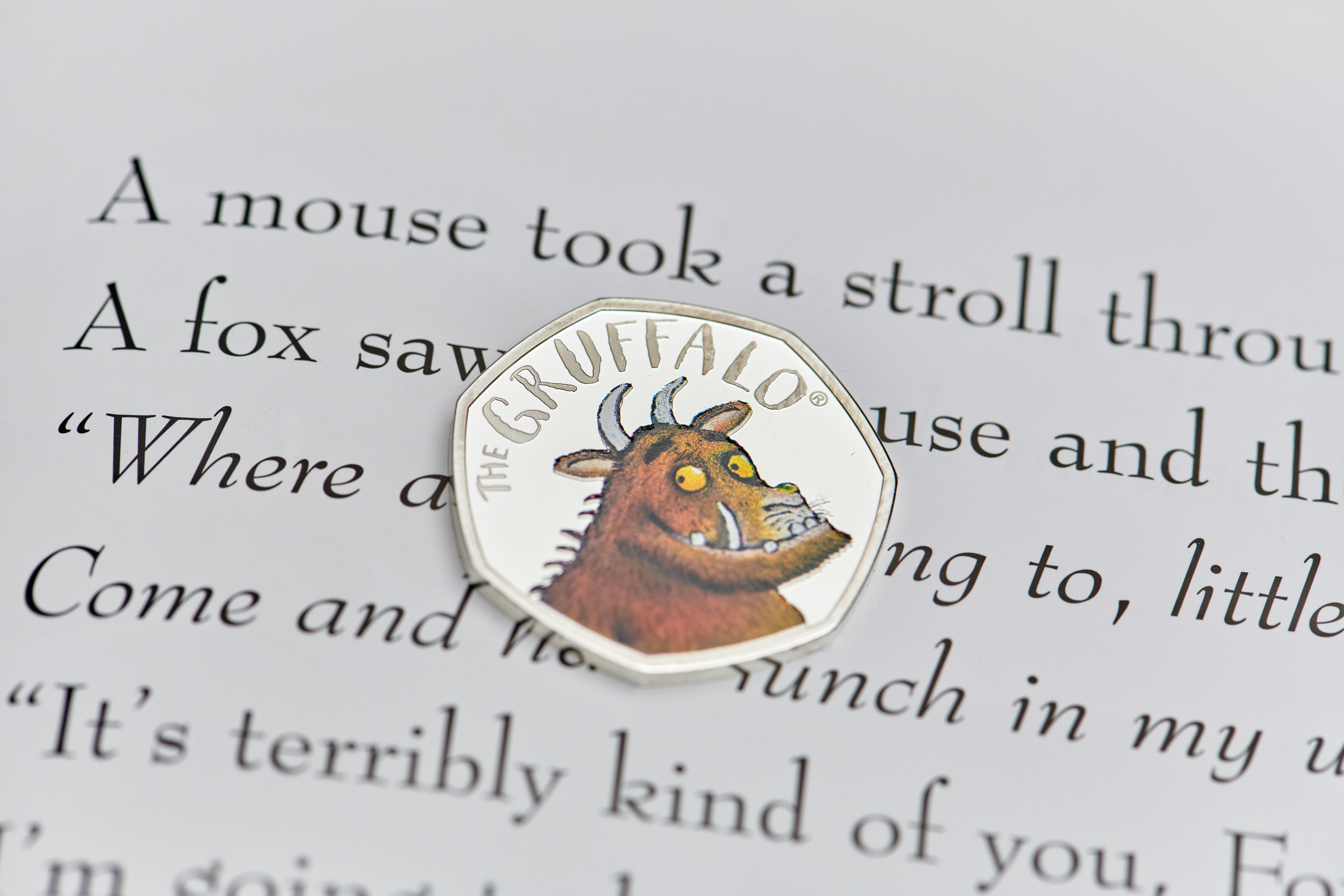 main image for A Gruffalo? What's A Gruffalo? One of the World's Best-Loved Monsters to Appear on UK Coins