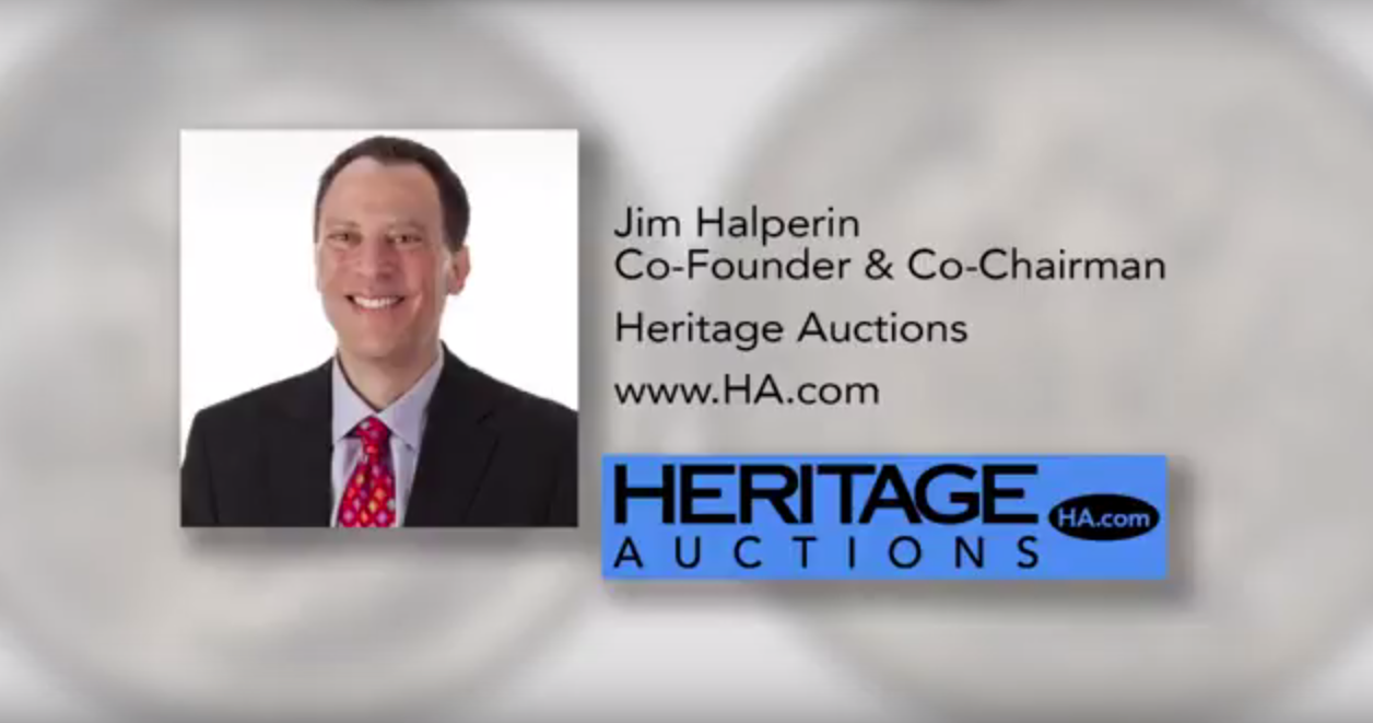 Jim Halperin, Founder and Co-Chairman of Heritage Auctions