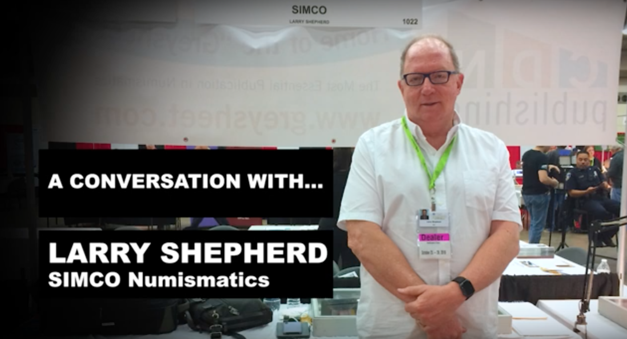 main image for Dealer Larry Shepherd Shares Why He Loves Coin Collecting
