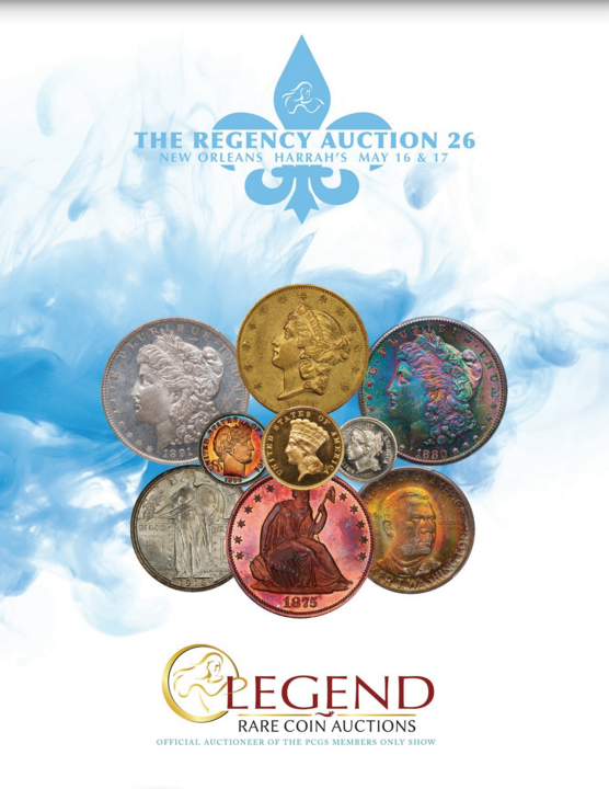 thumbnail image for Largest-Ever Regency Auction by Legend Rare Coin Auctions Features Plethora of Headlining Coins