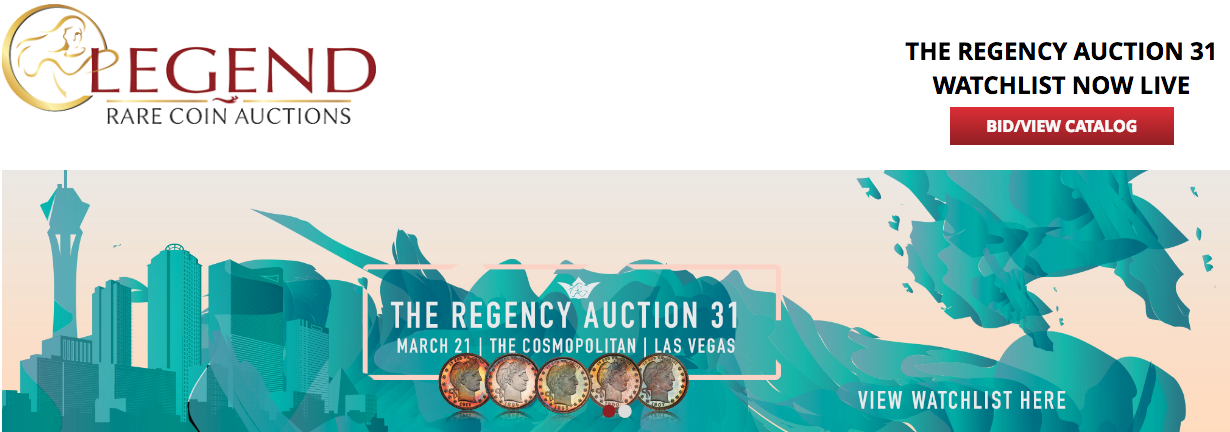main image for A Fresh and GEM Quality 1795 Eagle will Highlight Legend's 31st Regency Auction