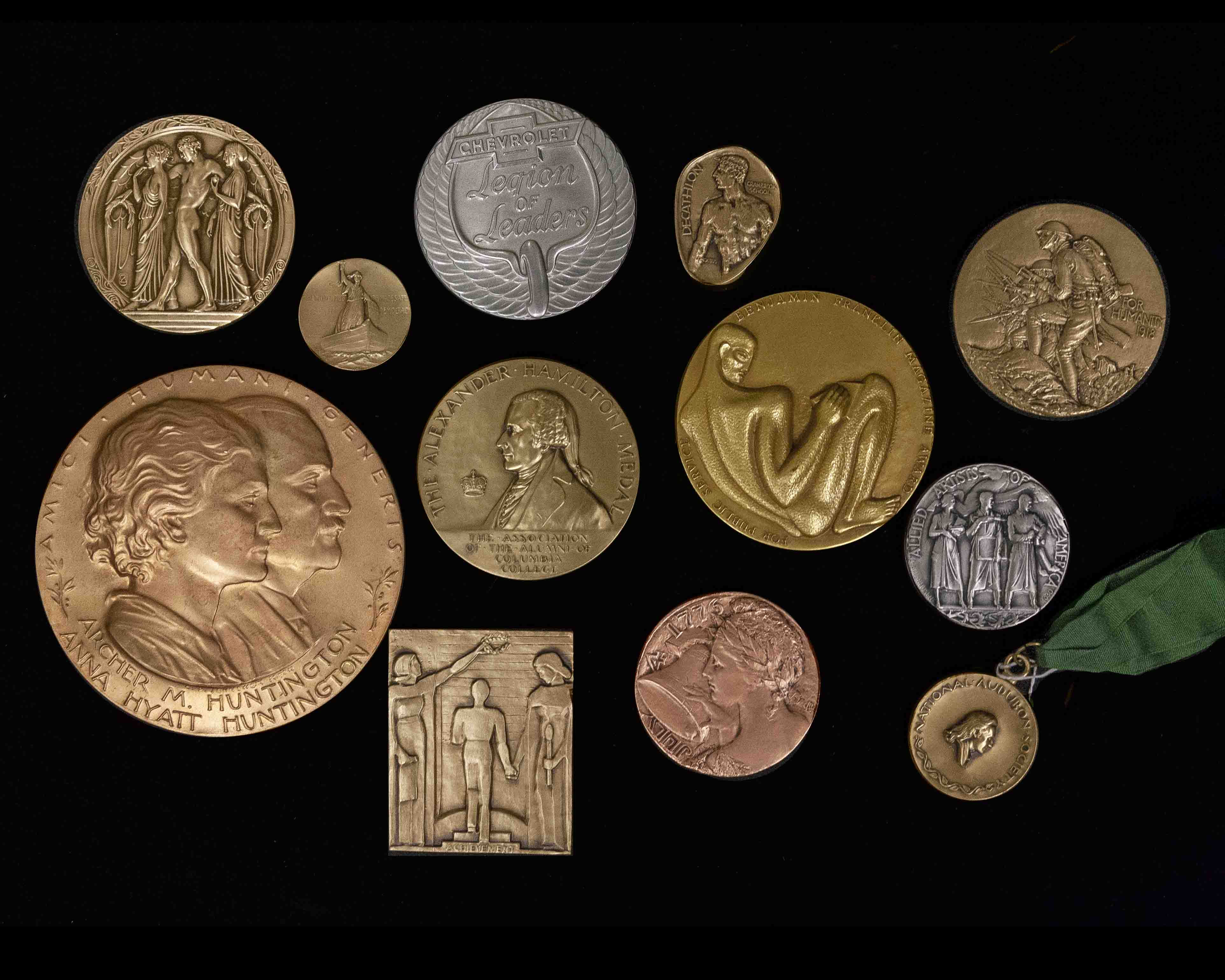 main image for American Numismatic Society Acquires Historic, Extensive Medallic Art Company Archives
