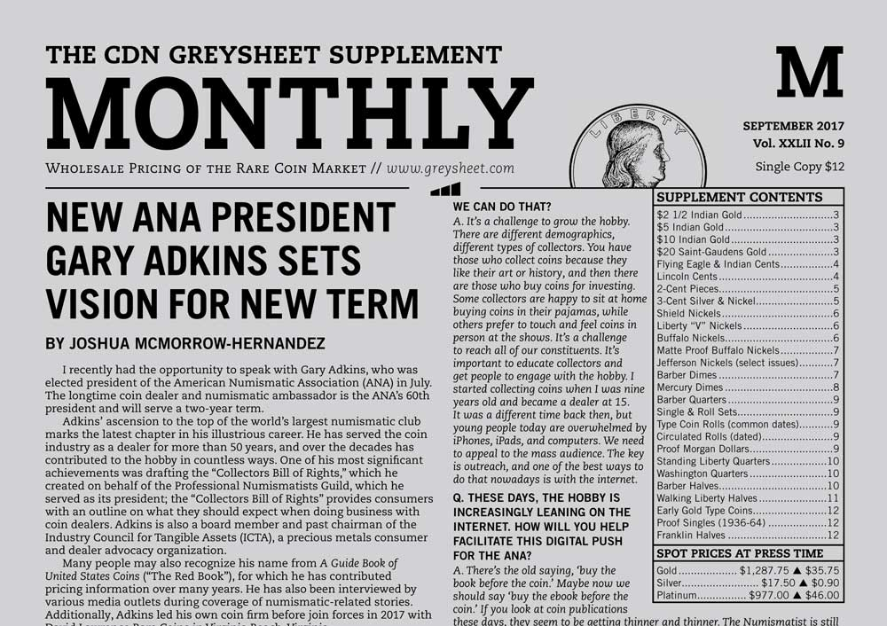 main image for MONTHLY SUPPLEMENT: NEW ANA PRESIDENT GARY ADKINS SETS VISION FOR NEW TERM