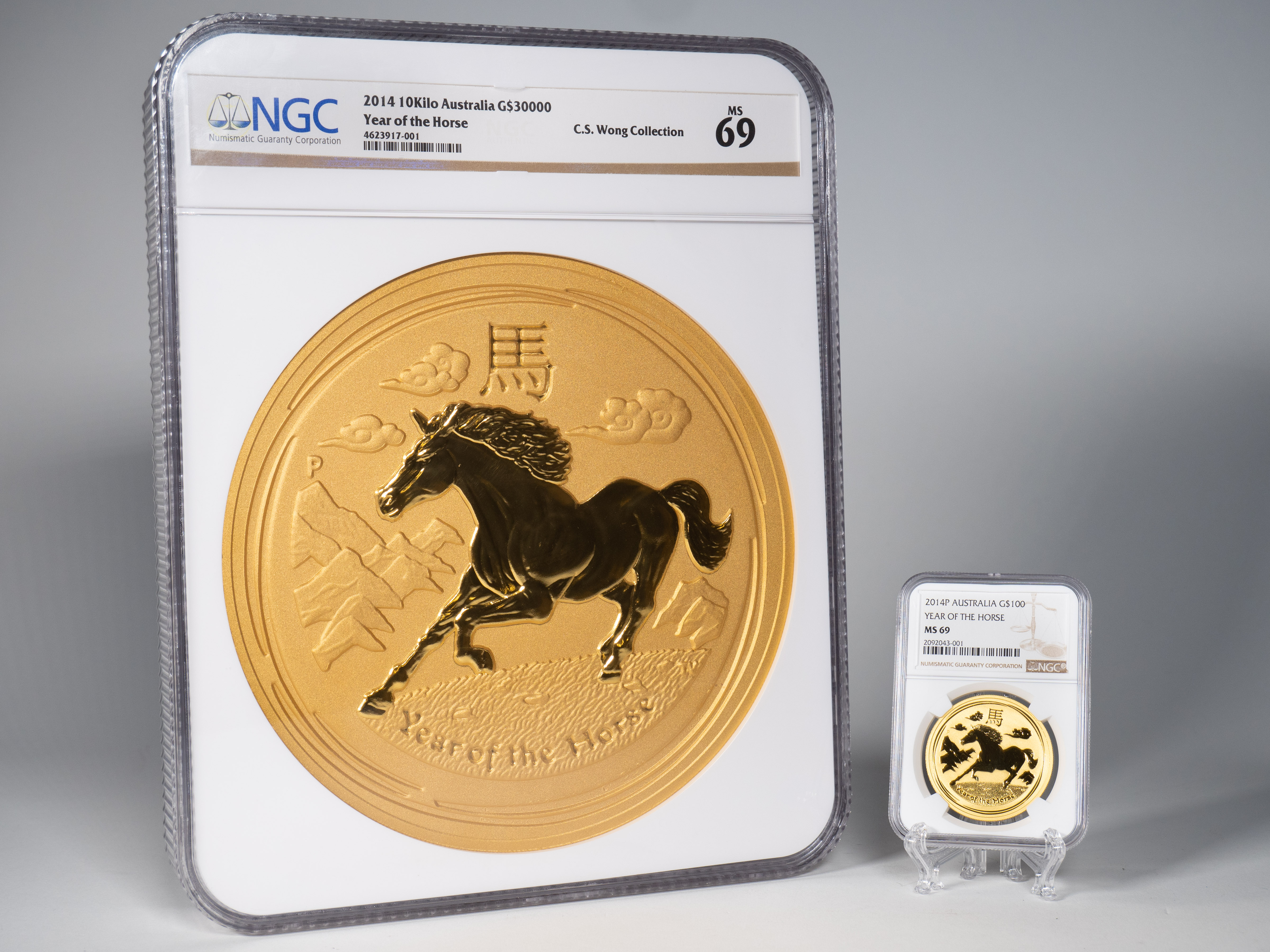 thumbnail image for Press Release: NGC Certifies Massive Gold Pieces