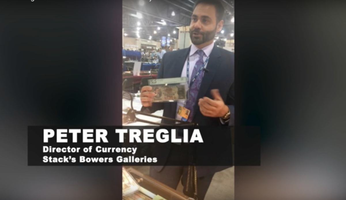 Peter Treglia of Stacks Bowers Galleries