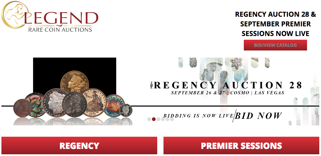 main image for Legend's Regency Auction 28 Presents Major Opportunities for Collectors