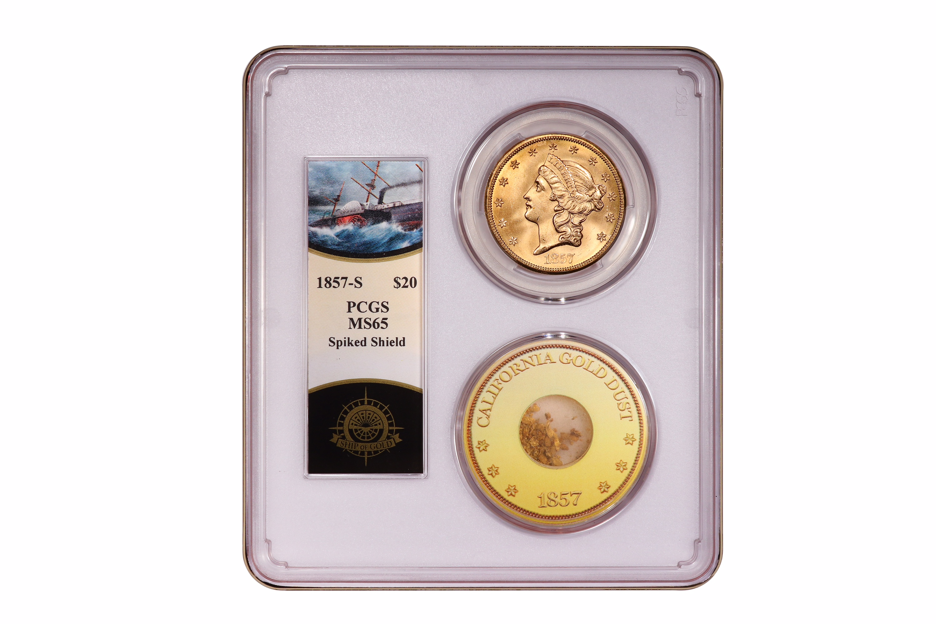 main image for SS Central America Coins, Treasure Enjoying Strong Demand