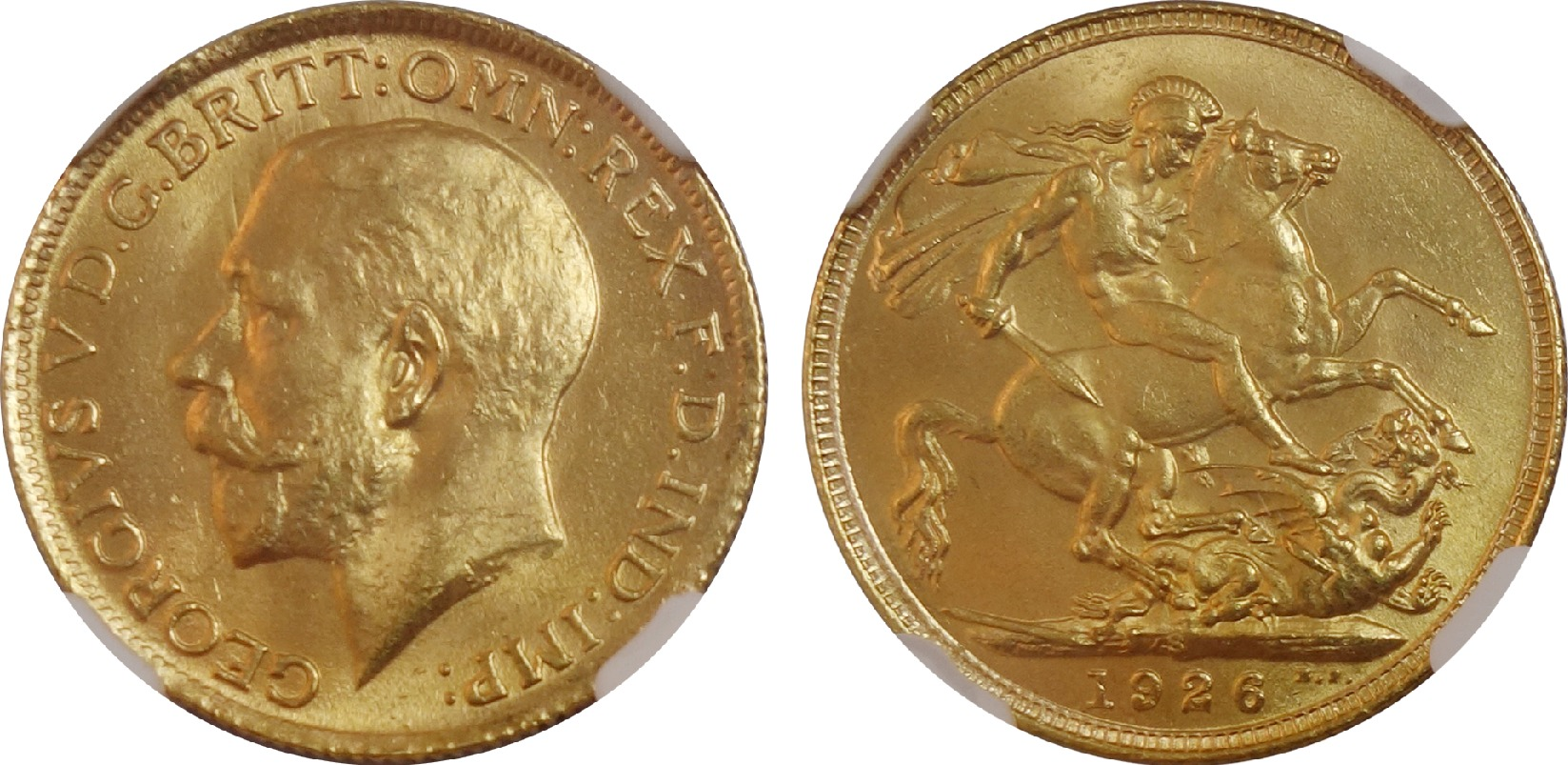 enlarged image for Ultra-Rare, Near Mint 1926-S Sovereign Hits Marketplace