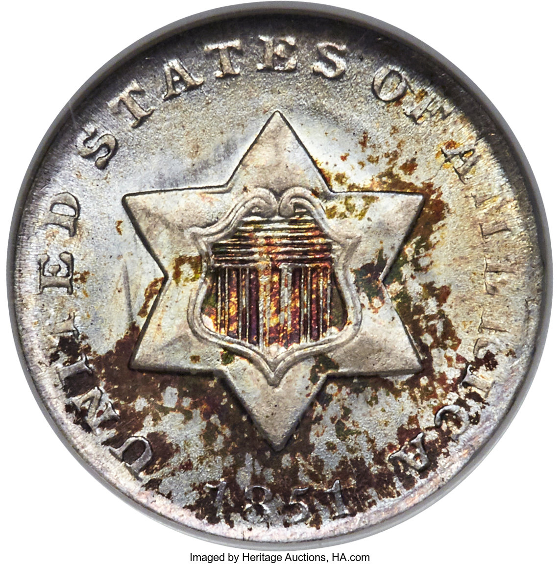 main image for Can You Spare A Trime? 3-Cent Silver Coins Popular With Collectors