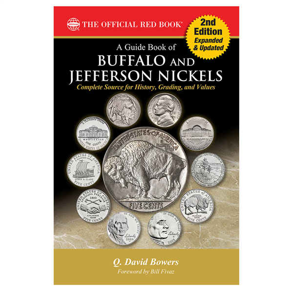 main image for PRESS RELEASE: Whitman Publishing Releases Expanded New 2nd Edition of the Guide Book of Buffalo and Jefferson Nickels
