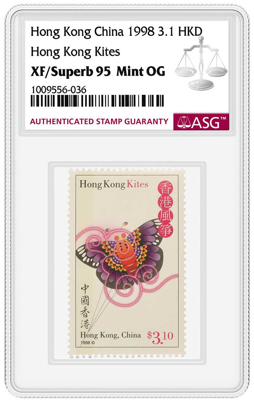 thumbnail image for ASG grading stamps on-site in Hong Kong in May 2020