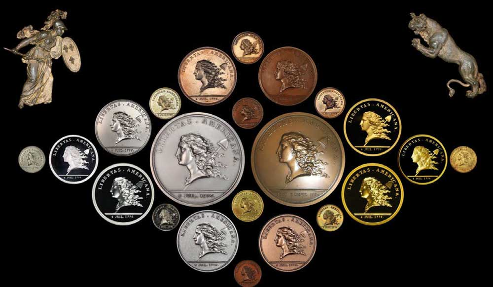 main image for Stack's Bowers Galleries to Display Cardinal Tribute to Benjamin Franklin's Libertas Americana Medal