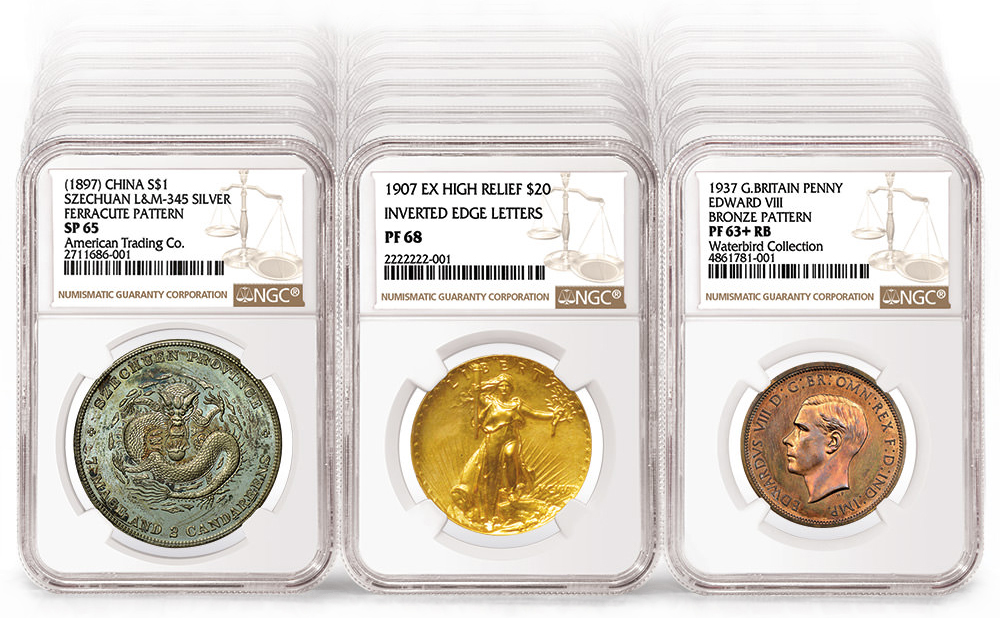 main image for NGC Grades 45 Million Coins
