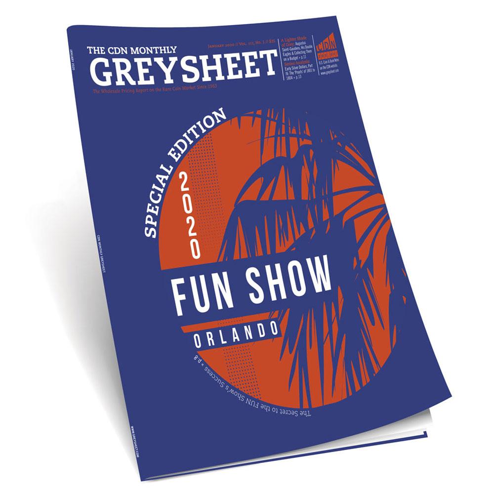 main image for Publisher's Message (January 2020 Greysheet)