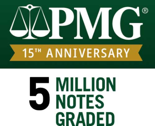 main image for PMG Celebrates 15 Years, Nearly 5 Million Notes