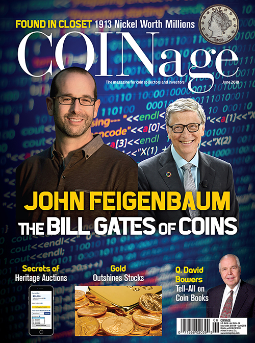 main image for John Feigenbaum: The Bill Gates Of Coins