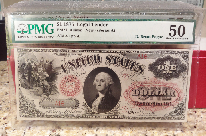 thumbnail image for CDN's Editor Visits Stack's Bowers Galleries to Preview the Pogue Currency Collection
