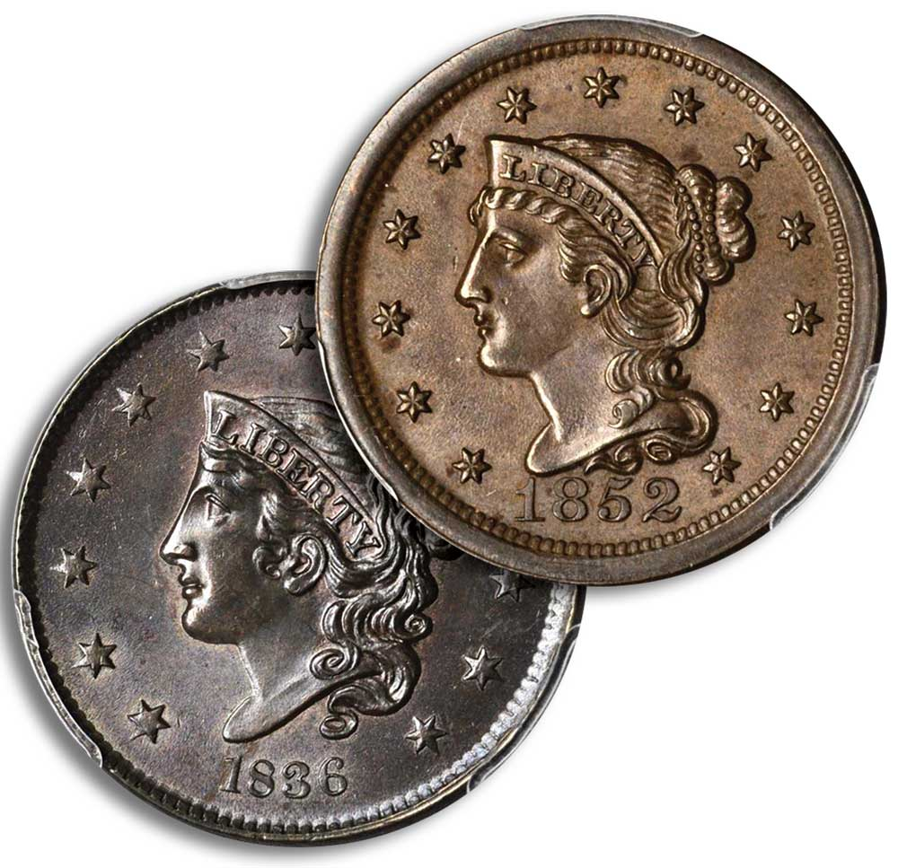 main image for Building a Type Set of Middle-Date and Late-Date Large Cents (1816-1857)