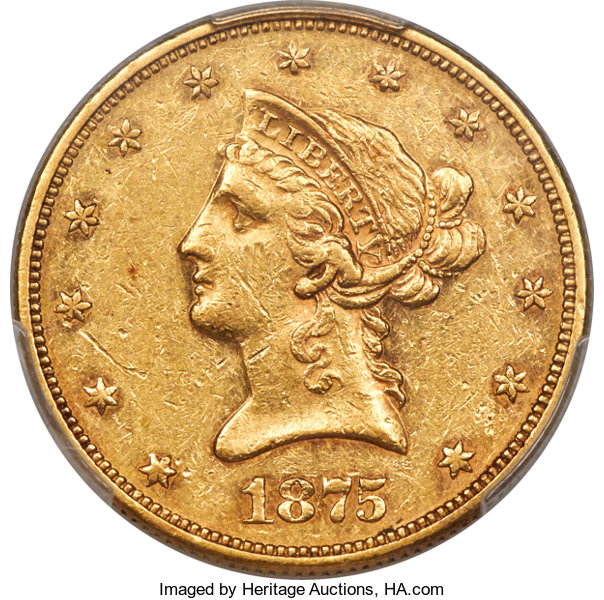 main image for Lowest-Mintage Circulating U.S. Gold Coin Highlights Heritage Auction' Long Beach Expo Offerings