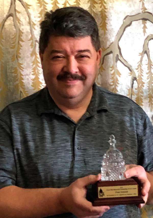 thumbnail image for Coin Dealer Dean Schmidt Receives Service Award for Kansas Bill Efforts