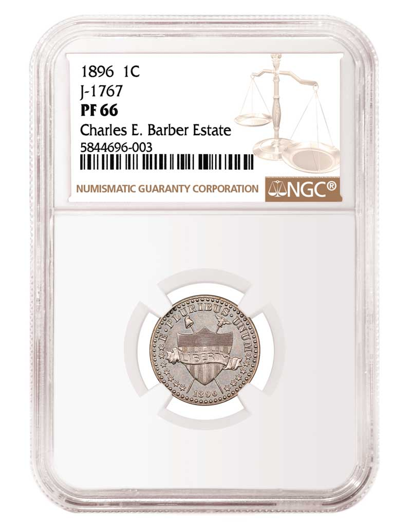 main image for NGC Certifies Pattern Coins from the Estate of US Mint Chief Engraver Charles E. Barber
