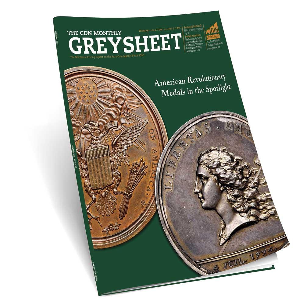 thumbnail image for Publisher's Message (February 2020 Greysheet)