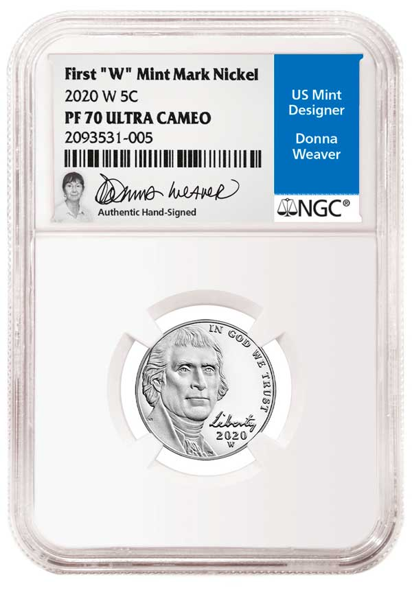 main image for NGC Signs Exclusive Signature Label Deal with Donna Weaver, Prolific US Mint Coin Designer and Sculptor