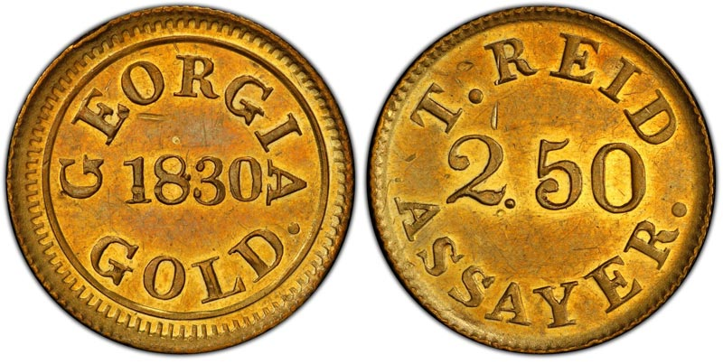 thumbnail image for Rare Georgia Gold Rush Coin Brings Record $480,000 in Atlanta