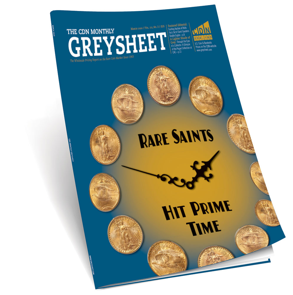 thumbnail image for Publisher's Message (March 2020 Greysheet)