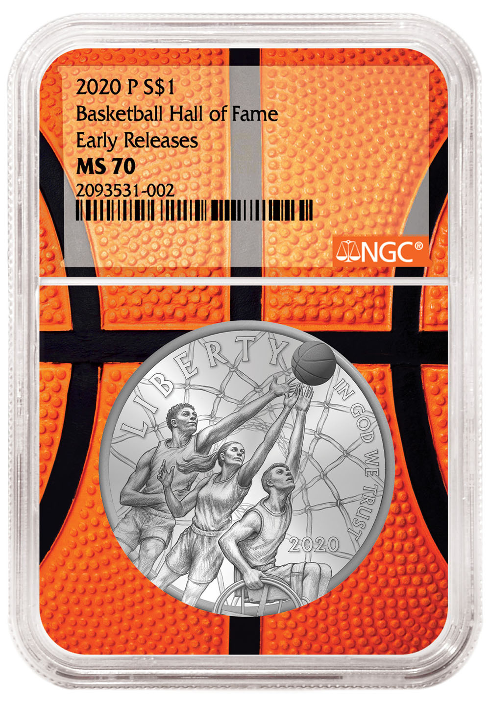 thumbnail image for NGC Announces All-Star Lineup for the 2020 Basketball Hall of Fame Commemorative Coins