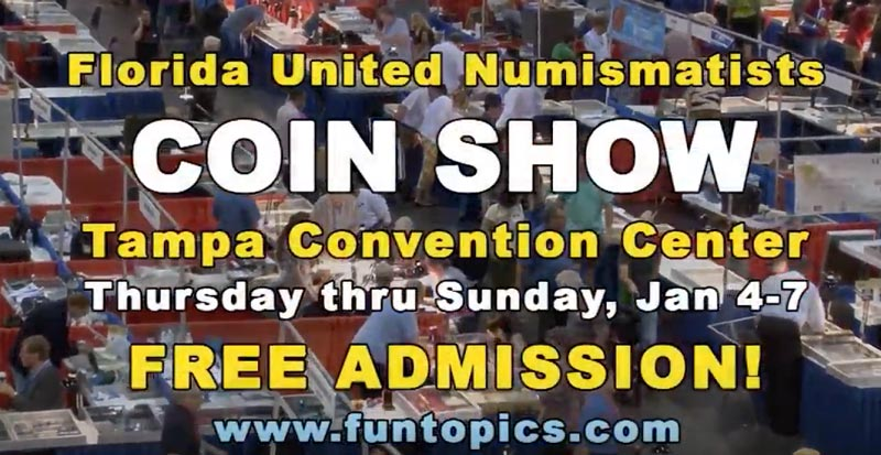 thumbnail image for FUN 2018 Tampa Coin Convention Commercial