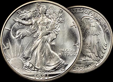Walking Liberty half dollar series