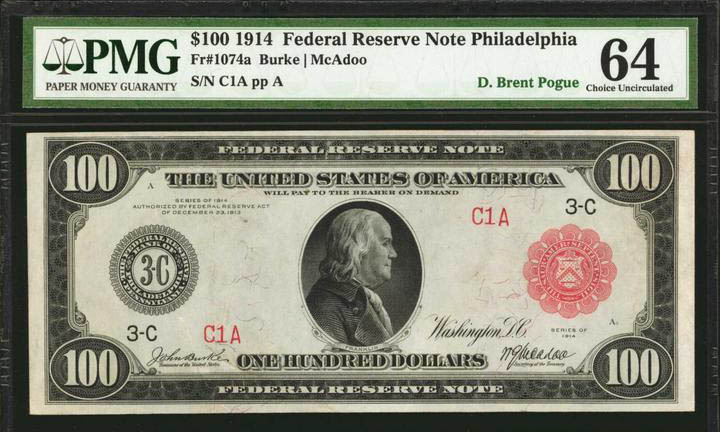 main image for The Stack's Bowers Galleries Sale of the D. Brent Pogue Collection: Masterpieces of United States Paper Money Realizes More than $9.2 Million