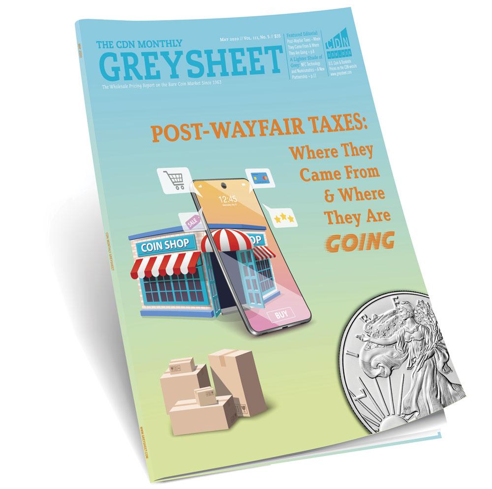 thumbnail image for Publisher's Message (May 2020 Greysheet)