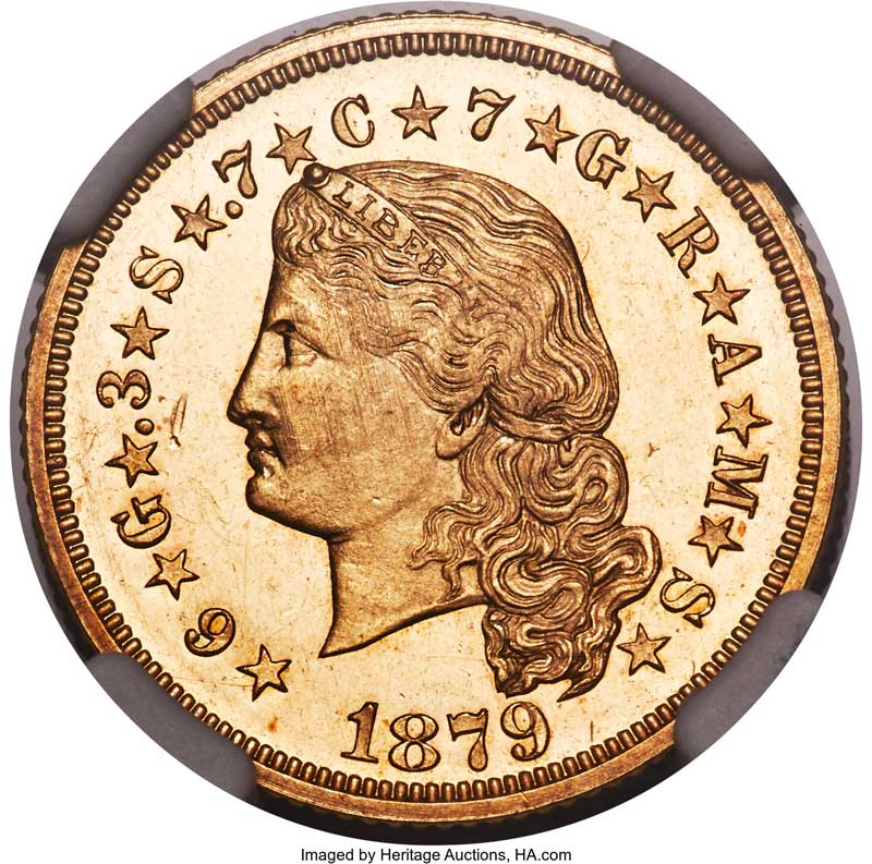 """main image for A """"Stellar"""" Coin For the Pattern Collector"""