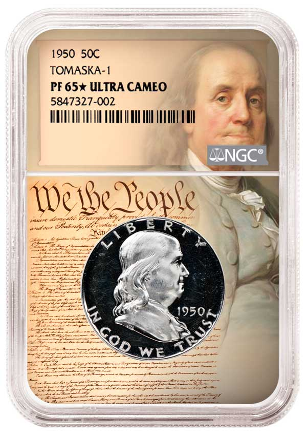 main image for NGC Now Attributing Tomaska Die Varieties for Franklin and Kennedy Half Dollars