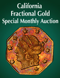 enlarged image for Heritage Auctions Offers California Fractional Gold at a Special Themed Monthly Auction