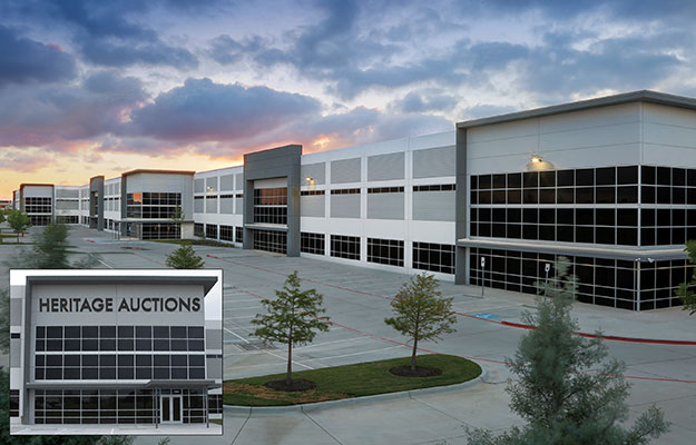 main image for Dallas-Based Heritage Auctions Relocates World Headquarters to New, 160,000 Square-Foot Campus