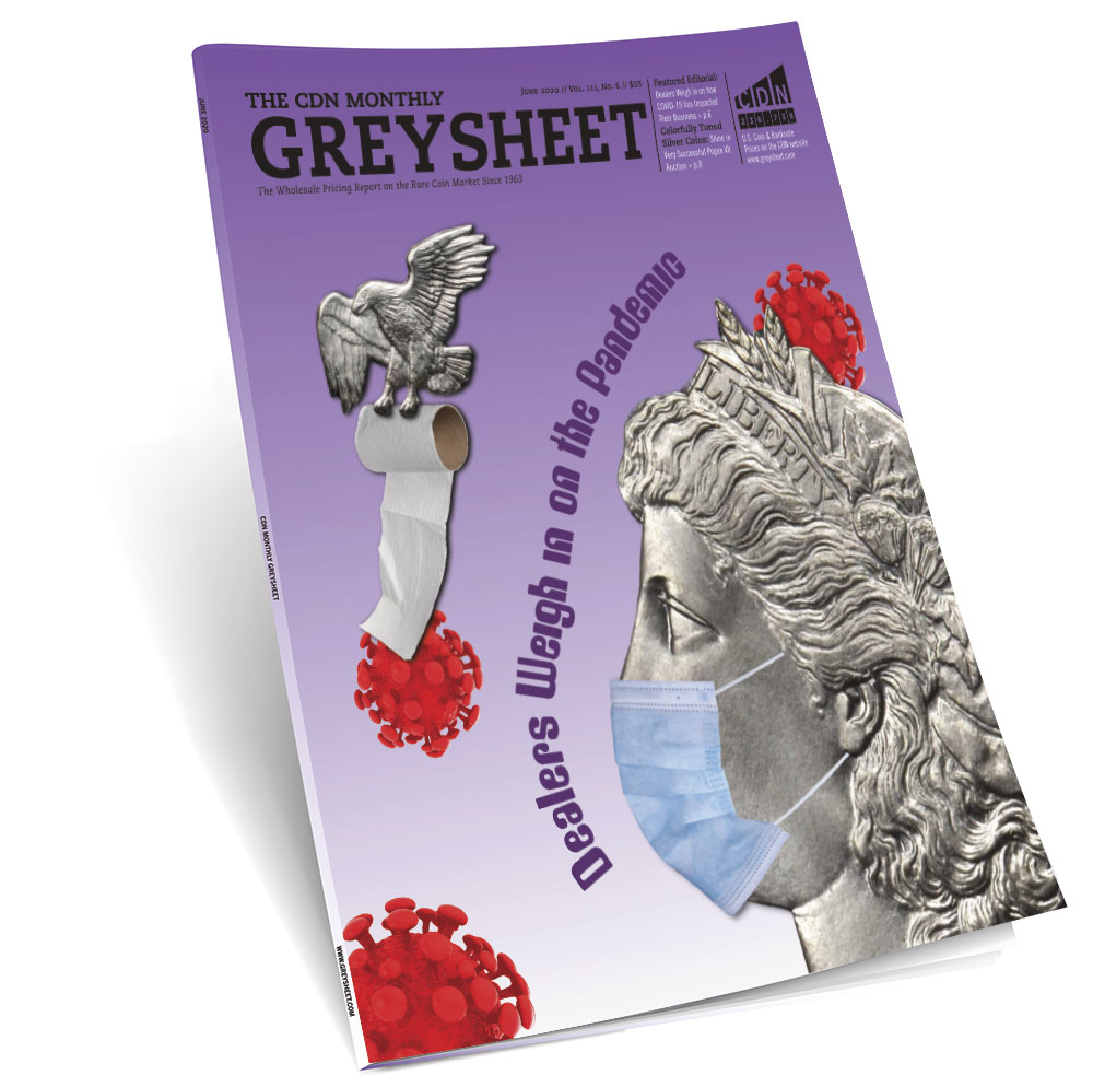 main image for Publishers Message (June 2020 Greysheet)