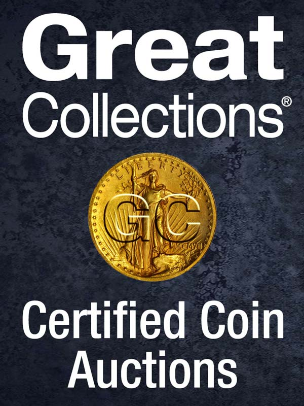 Event image for GreatCollections Coin, Currency, World Money, and World Coins Auctions