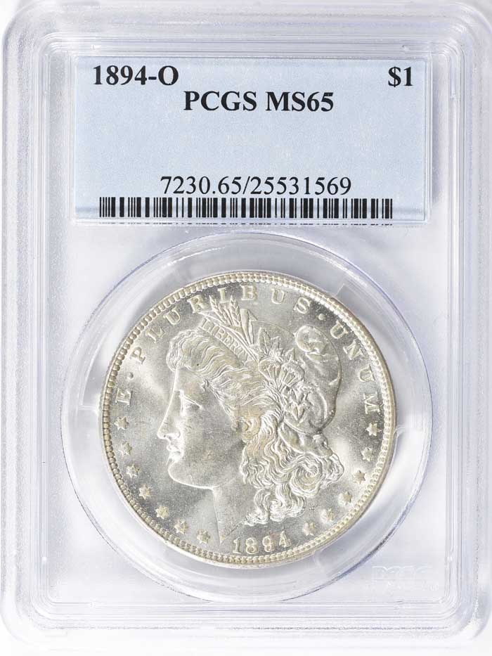 thumbnail image for Impressive P. Hall Morgan Dollar Collection at GreatCollections