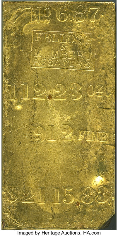 main image for Giant Gold Bar Rescued From The Watery Depths and Up For Bid