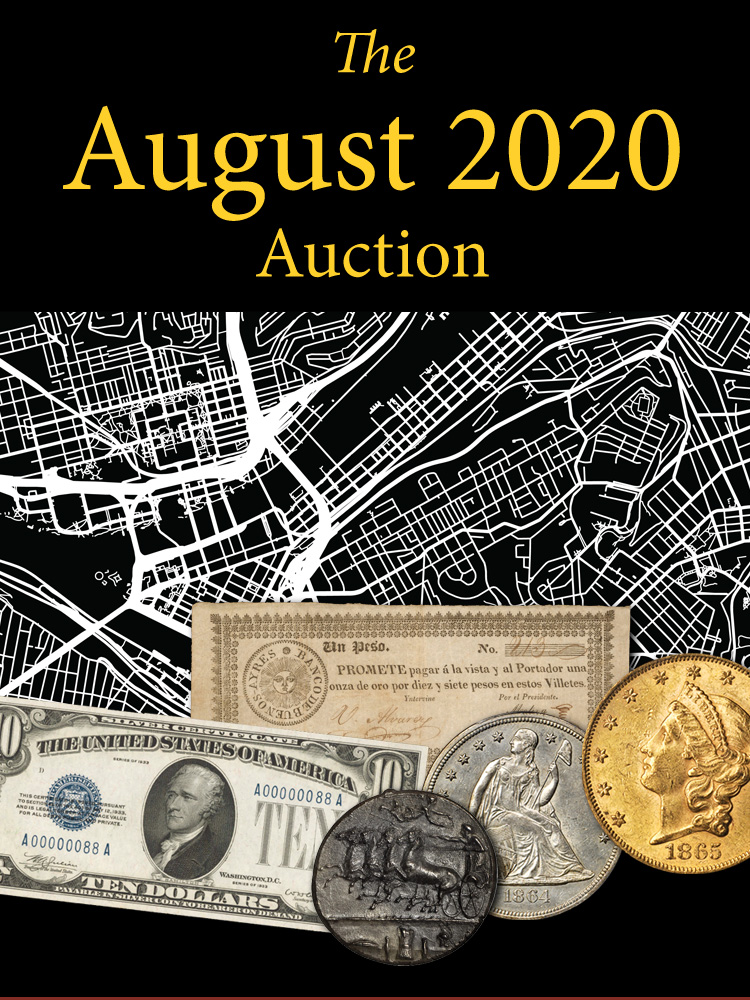 thumbnail image for Stacks Bowers Galleries Announces Schedule for August 5-7, 2020 Auction to be Held at Bellagio Hotel and Casino in Las Vegas