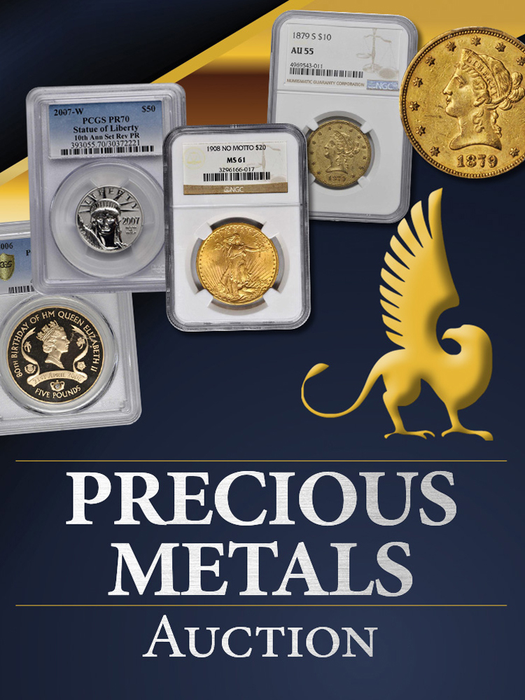 Event image for Stacks Bowers Precious Metals Auctions