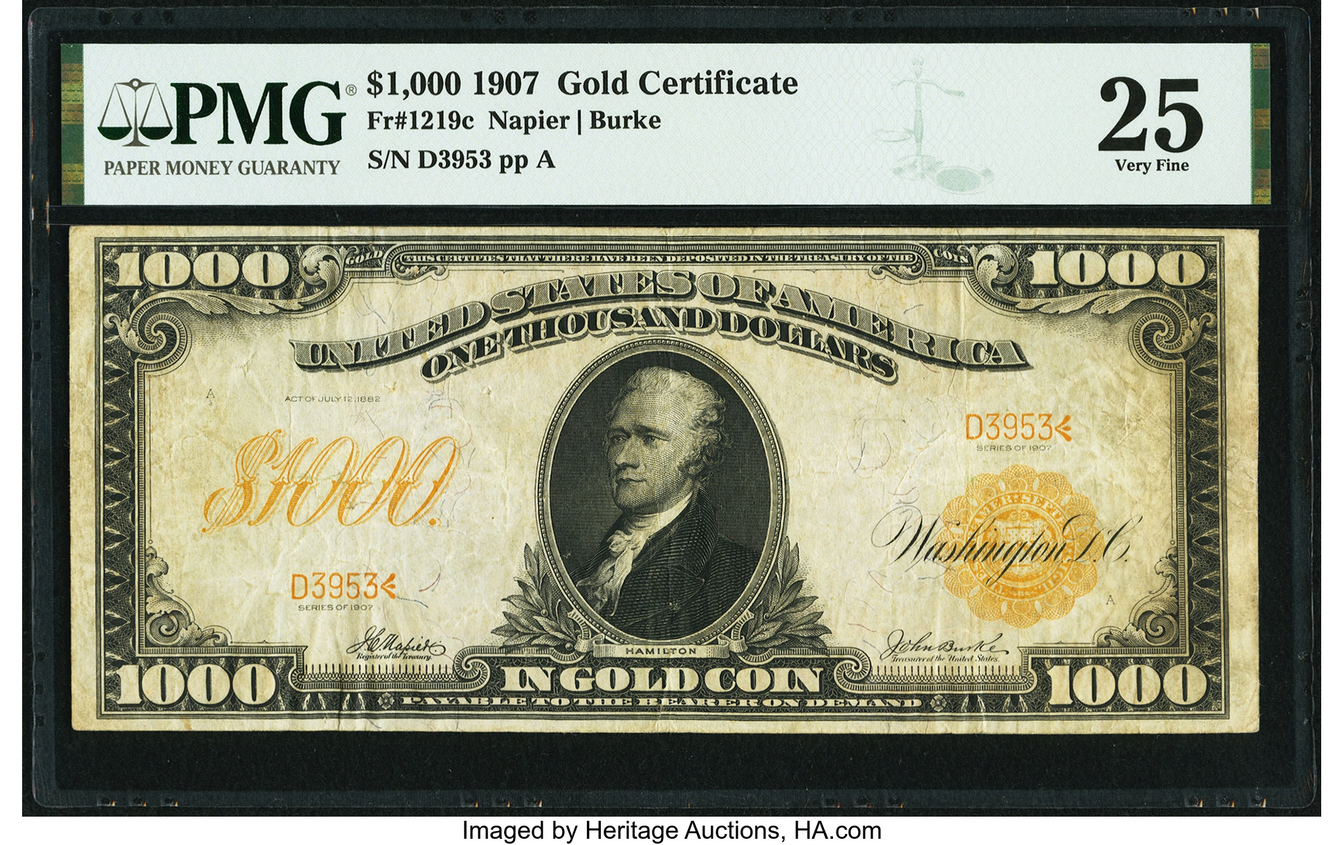 main image for Gold Certificate Is the Gold Standard For Paper Money Collectors