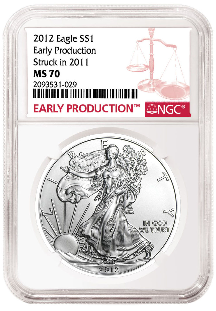 thumbnail image for NGC Introduces 'Early Production' Designation for Early Mint Strikes