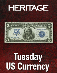 Heritage US Currency Weekly Auction